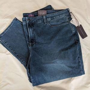 NWT NYDJ Alina legging jeans 24W